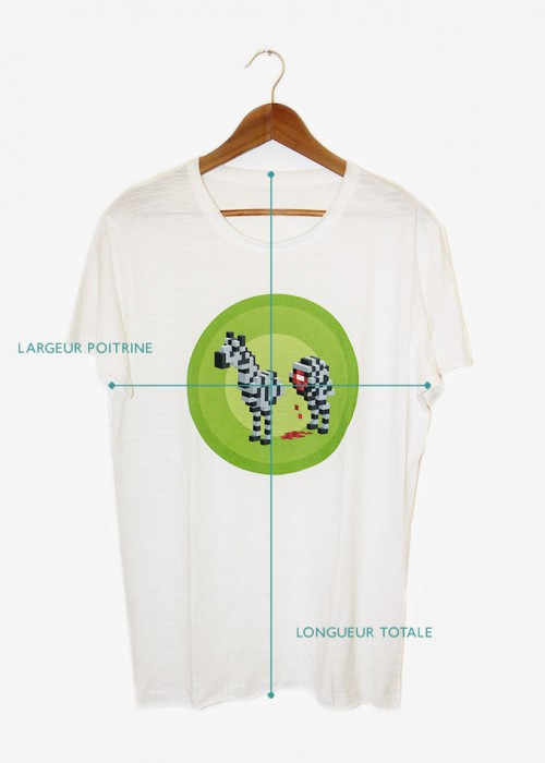 guide des tailles pour les t-shirts hommes